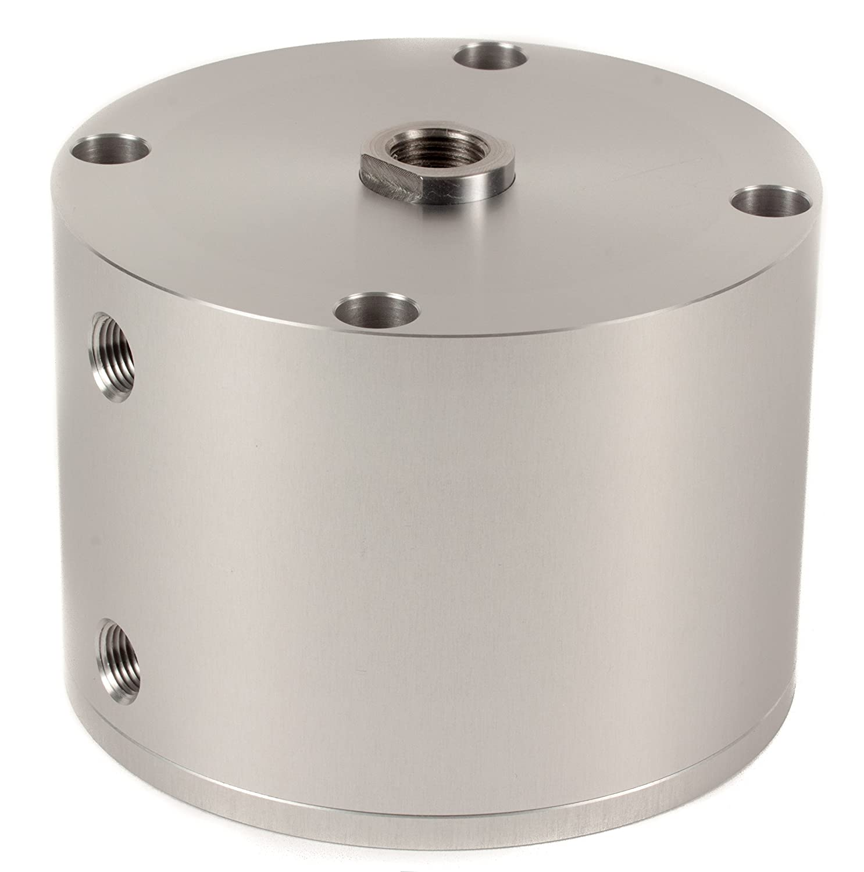 Fabco-Air F-521-X Original Pancake Cylinder, Double Acting, Maximum Pressure of 250 PSI, 2-1/2