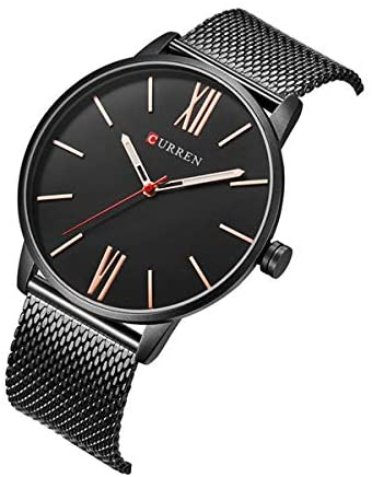 Curren Curren Luxury Mens Watch Fashion Casual Ultra Thin Waterproof Stainless Steel Silver Watch for Men Online