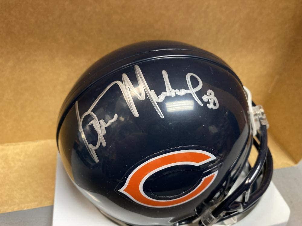 WILBER MARSHALL CHICAGO BEARS SIGNED AUTOGRAPHED RIDDELL MINI HELMET W/COA
