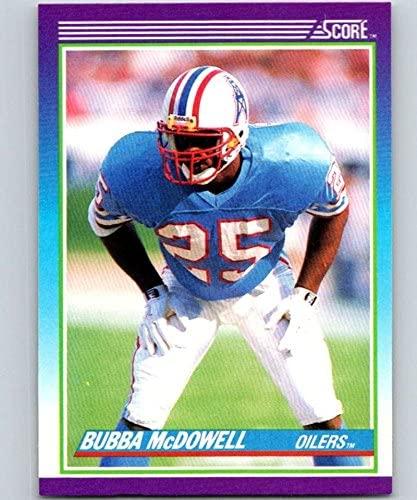 1990 Score #151 Bubba McDowell Oilers NFL Football