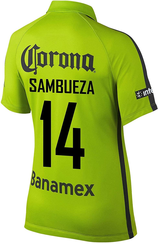 SAMBUEZA #14 Club America Women's Soccer Jersey 2014/15
