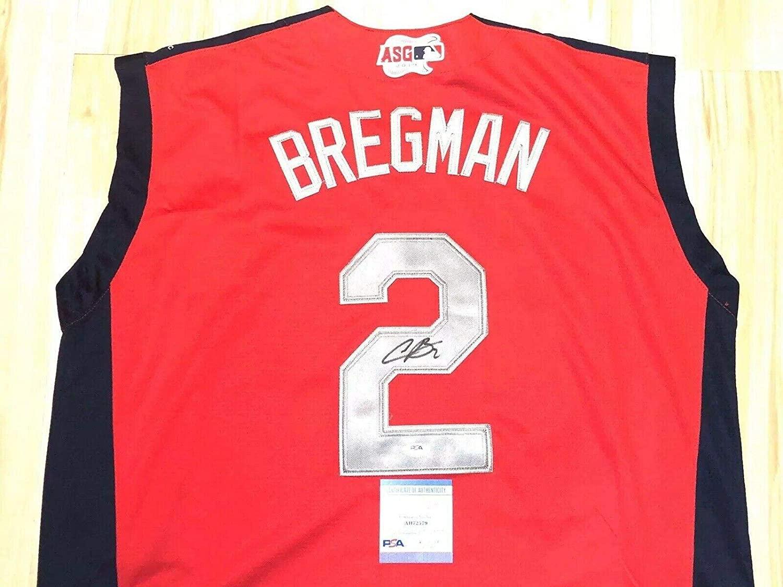 Autographed Alex Bregman Jersey - 2018 All Star MVP Cert - PSA/DNA Certified - Autographed MLB Jerseys