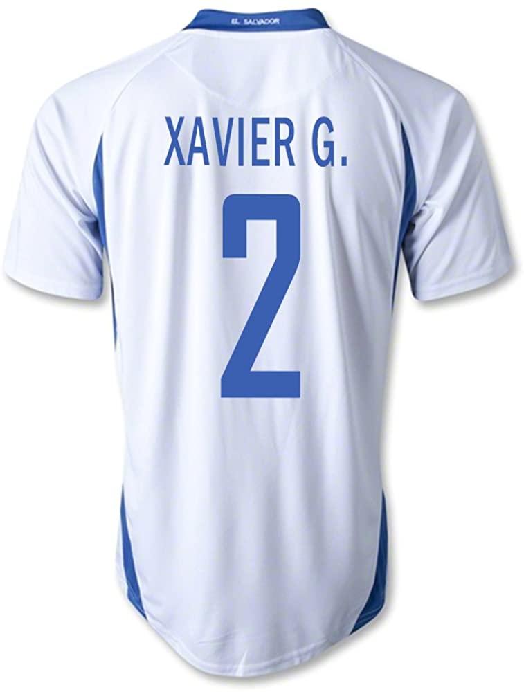 mitre Xavier G. #2 El Salvador Away Soccer Jersey
