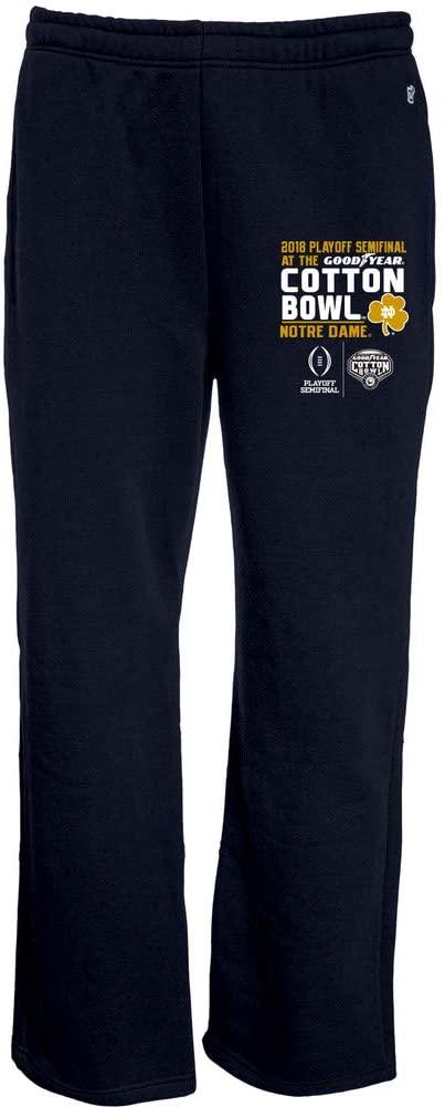 Elite Fan Shop Notre Dame Fighting Irish Cotton Bowl Sweatpants 2018 Navy