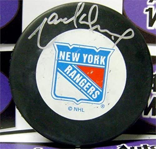 Marcel Dionne Signed Puck - Hall of Famer) - Autographed NHL Pucks