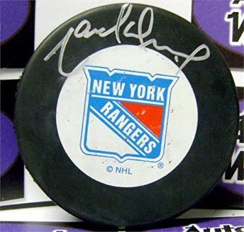Marcel Dionne Signed Puck - Hall of Famer) - Autographed NHL Pucks