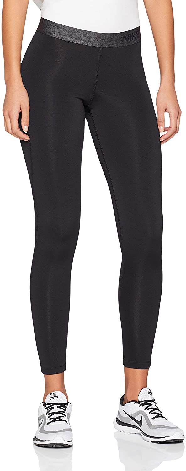 Nike Women's Pro Warm Tights Black/Dark Grey Size X-Large