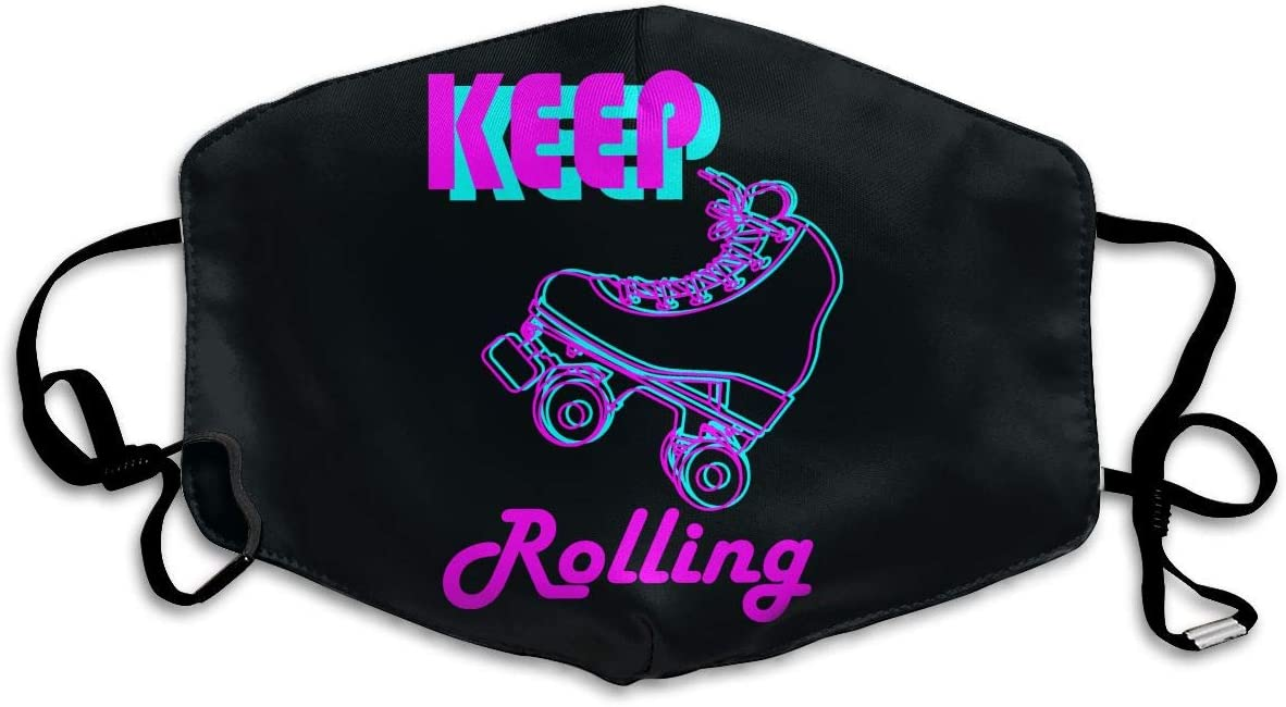 Caimizogojocrz Roller Skating Dust Masks Can Be Washed and Reused Windproof Dust Masks