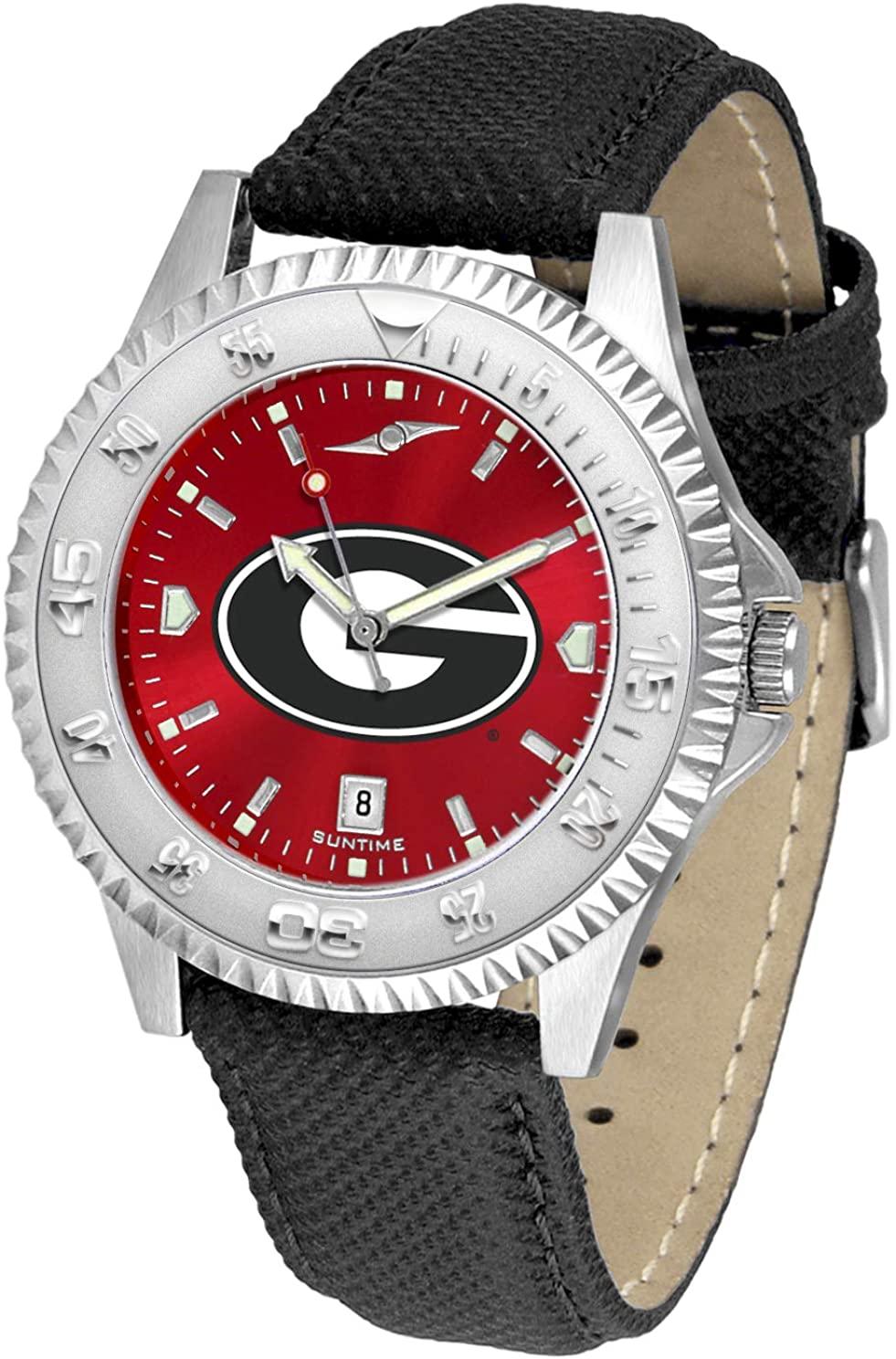 Georgia Bulldogs - Men's Competitor AnoChrome Watch