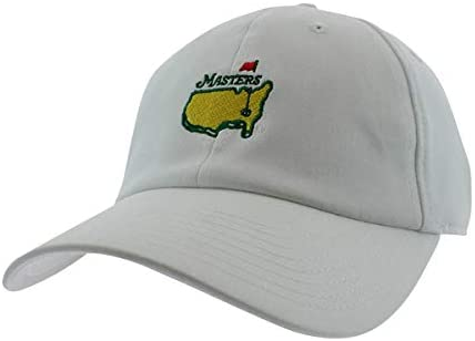 Masters Golf Hat Performance Tech White Adjustable Official Augusta National