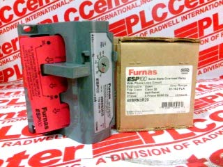 FURNAS ELECTRIC CO 48BRN3R20 Overload Relay 81-162AMP Class 20 ESP 100