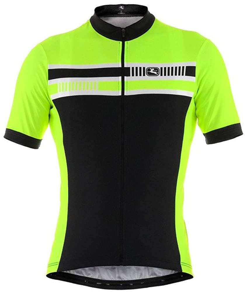 Giordana Mens Silverline Giro Short Sleeve Cycling Jersey - GI-S4-SSJY-SILV