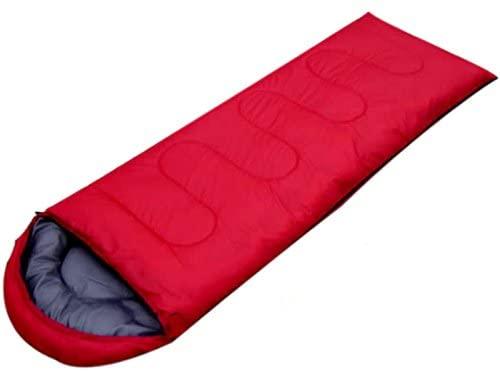 XiuanCum Outdoor Camping Sleeping Bag Warm Envelope Hooded Winter Sleeping Bags Adult Travel Sleep Bag