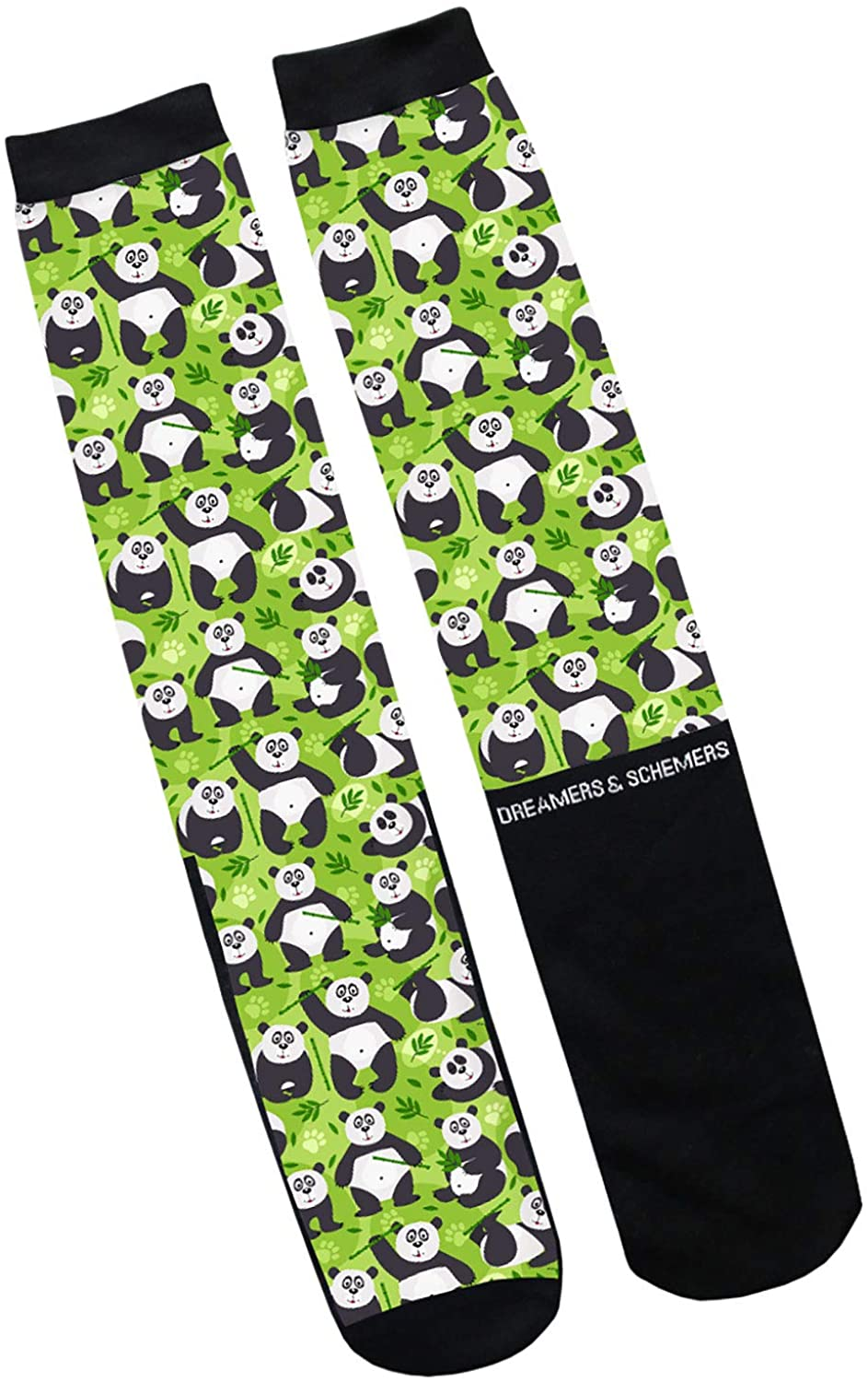 Dreamers & Schemers Powered By Pandas Riding Socks