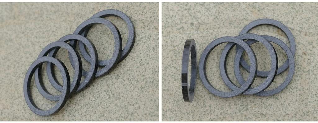 vgocycling Carbon Fiber 5mm Spacer 1 1/8 for Stem Bike Bicycle Fork Headset Washer