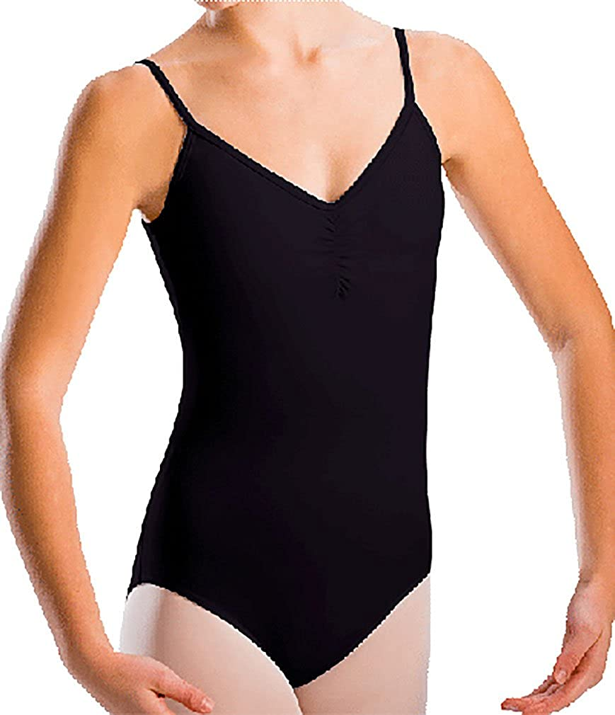 Motionwear Women's Pinch Front Camisole Leotard Synthetic Leotards