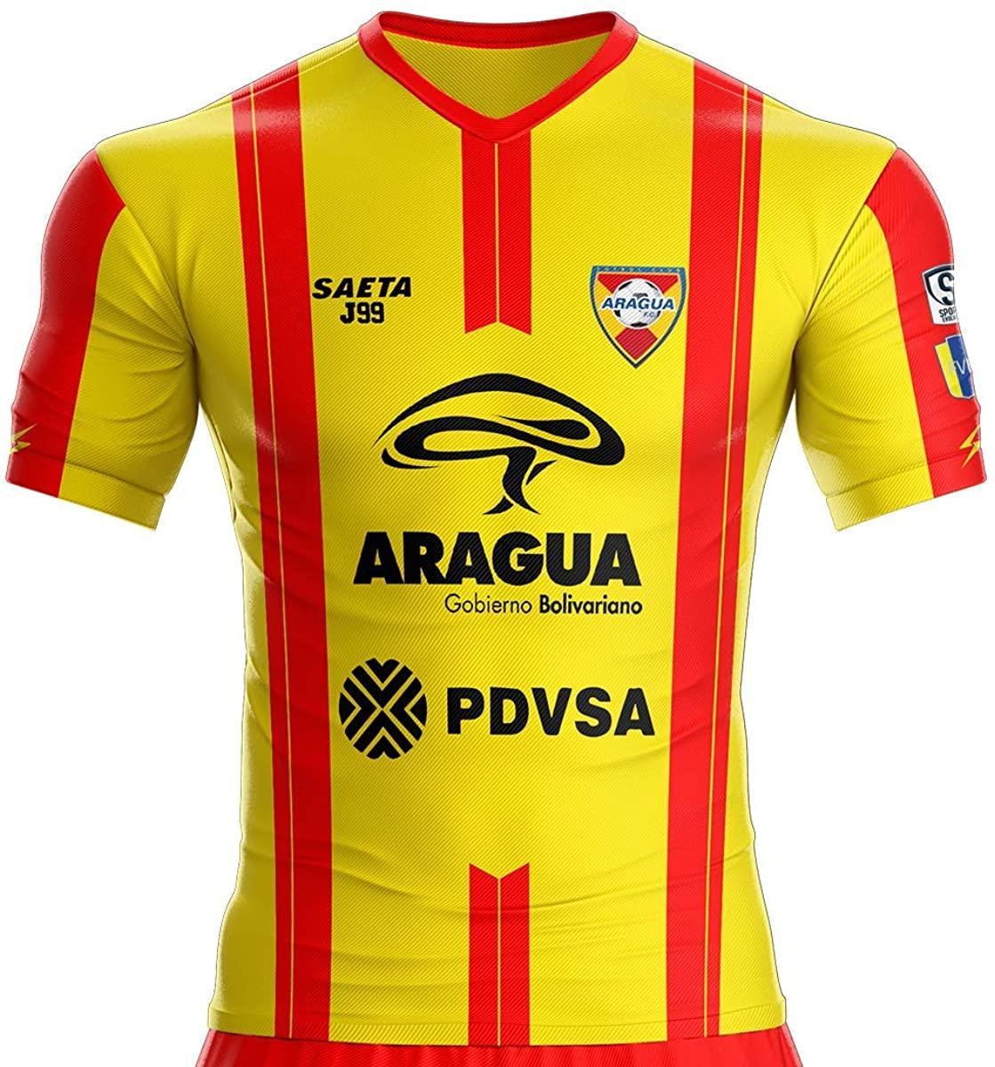 Aragua (Venezuela) Home Soccer Jersey