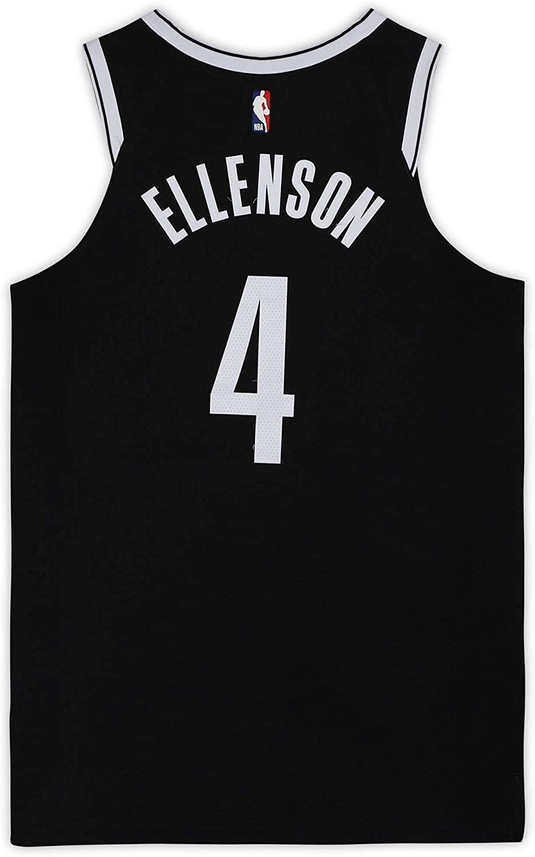 Henry Ellenson Brooklyn Nets Game-Used #4 Black Jersey vs. Dallas Mavericks on January 2, 2020 - Size 50+4 - Fanatics Authentic Certified
