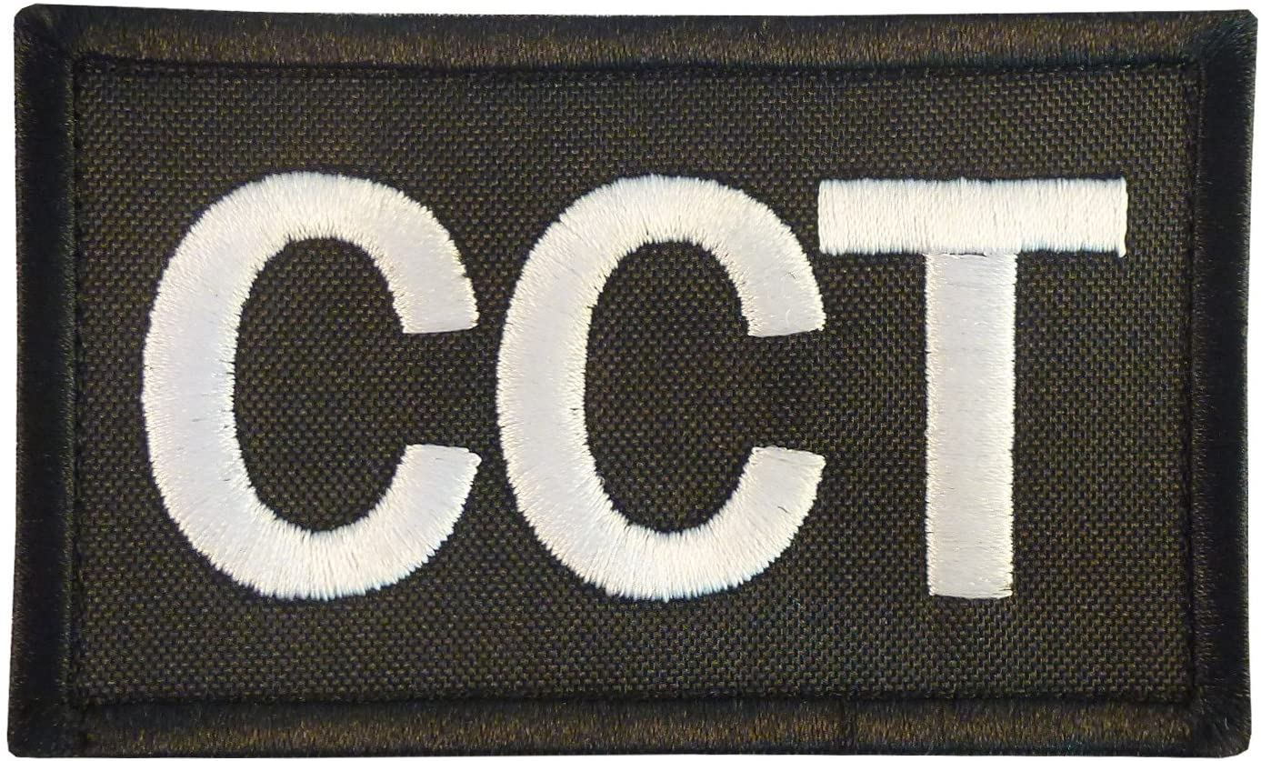 LEGEEON CCT Combat Control Team Controller USAF Air Support AFSOC Tactical Embroidered Touch Fastener Patch