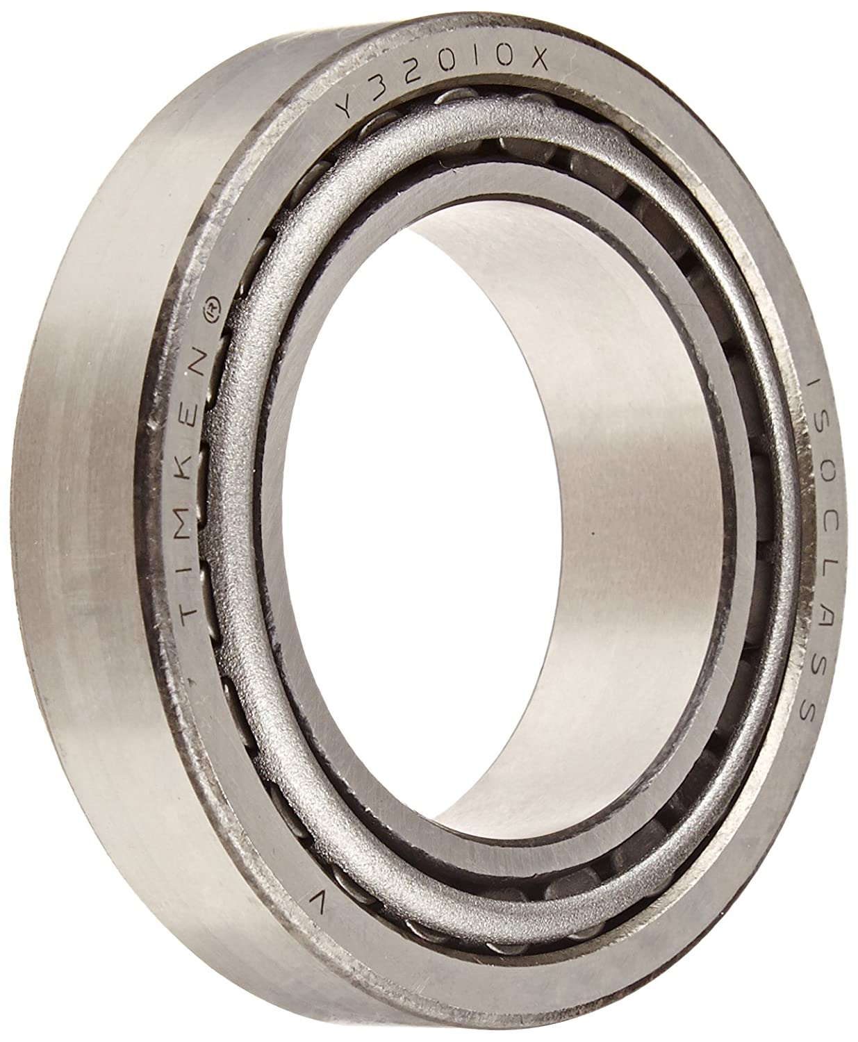 Timken 32010X90KA1 Tapered Roller Bearing Cone and Cup Set, Steel, Metric, 50mm ID, 80mm OD, 20mm Cup Width