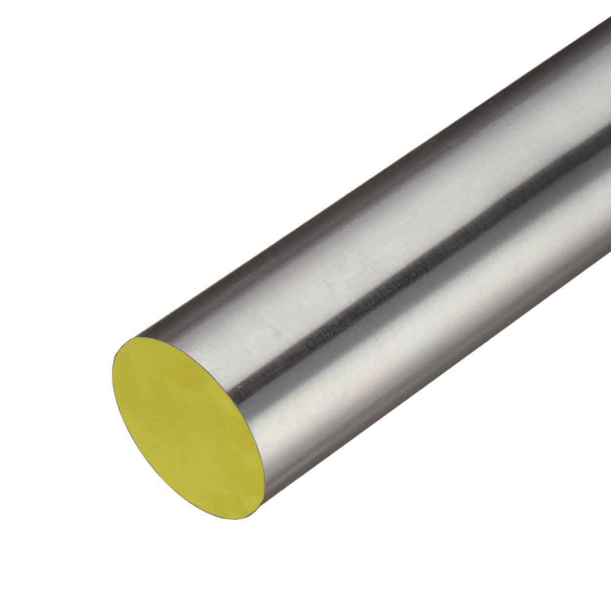 Online Metal Supply 316 Stainless Steel Round Rod, 1.000 (1 inch) x 18 inches