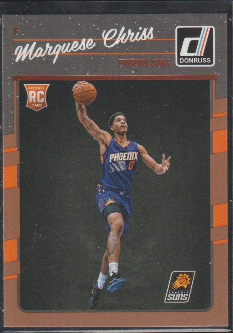 2016-17 Donruss Marquese Chriss Suns Rookie Basketball Card #158