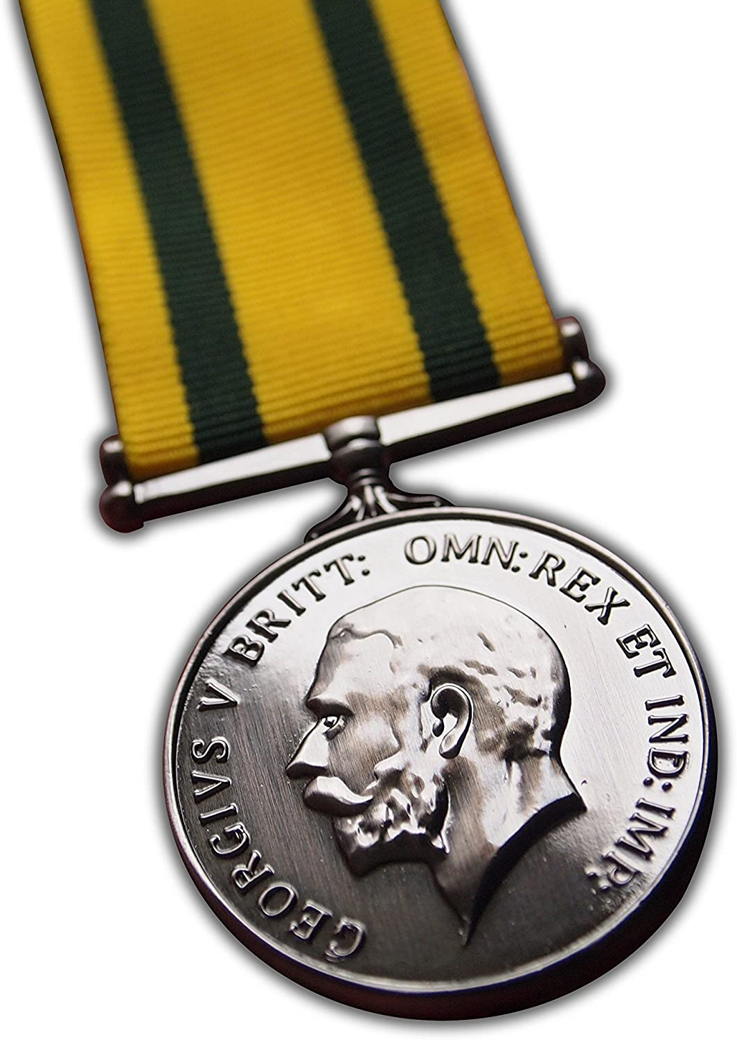 Territorial Force War Medal Full Size Rare Repro WW1 Military Award For Campaign Service in army