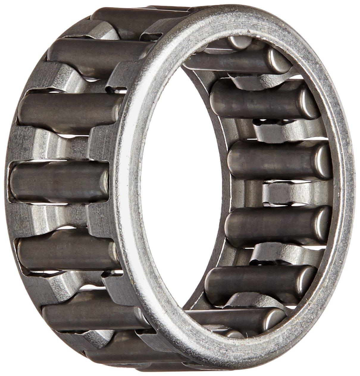 Koyo K20X26X12 Needle Roller Bearing and Roller, Open, Steel Cage, Metric, 20mm ID, 26mm OD, 12mm Width
