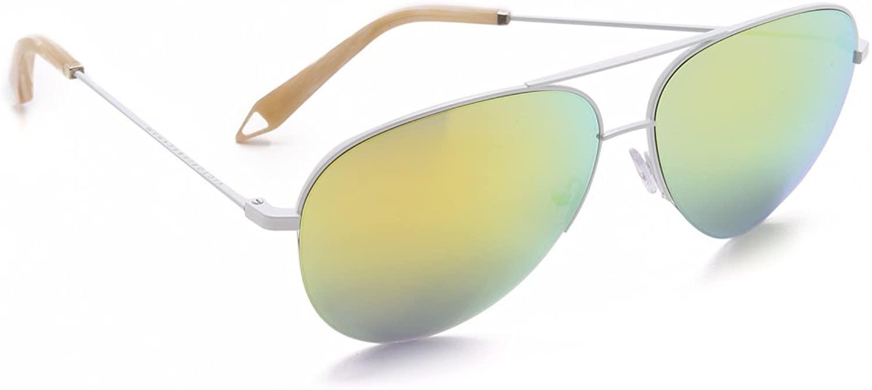Victoria Beckham Women's Modern Aviator Sunglasses