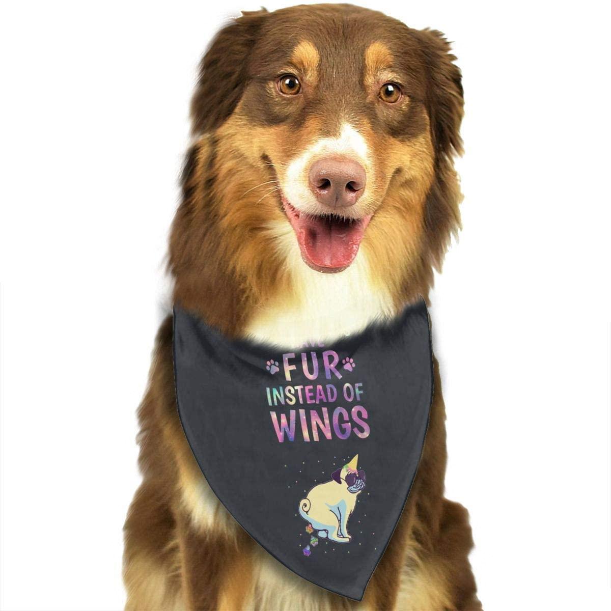 CHAN03 Dogs Bandana Collars Pug Dog and Icescream Pets Triangle Neckerchief Puppy Bibs Scarfs Cats Scarfs Towel