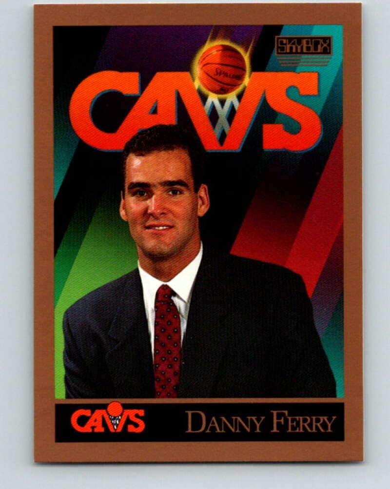 1990-91 SkyBox #300 Danny Ferry Mint Basketball NBA RC Rookie SP Cavaliers