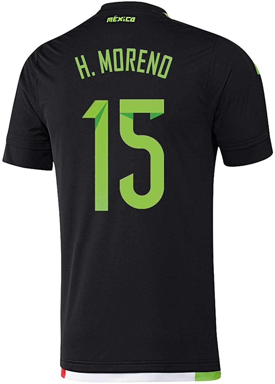 adidas H. Moreno #15 Mexico Home Soccer Jersey 2015