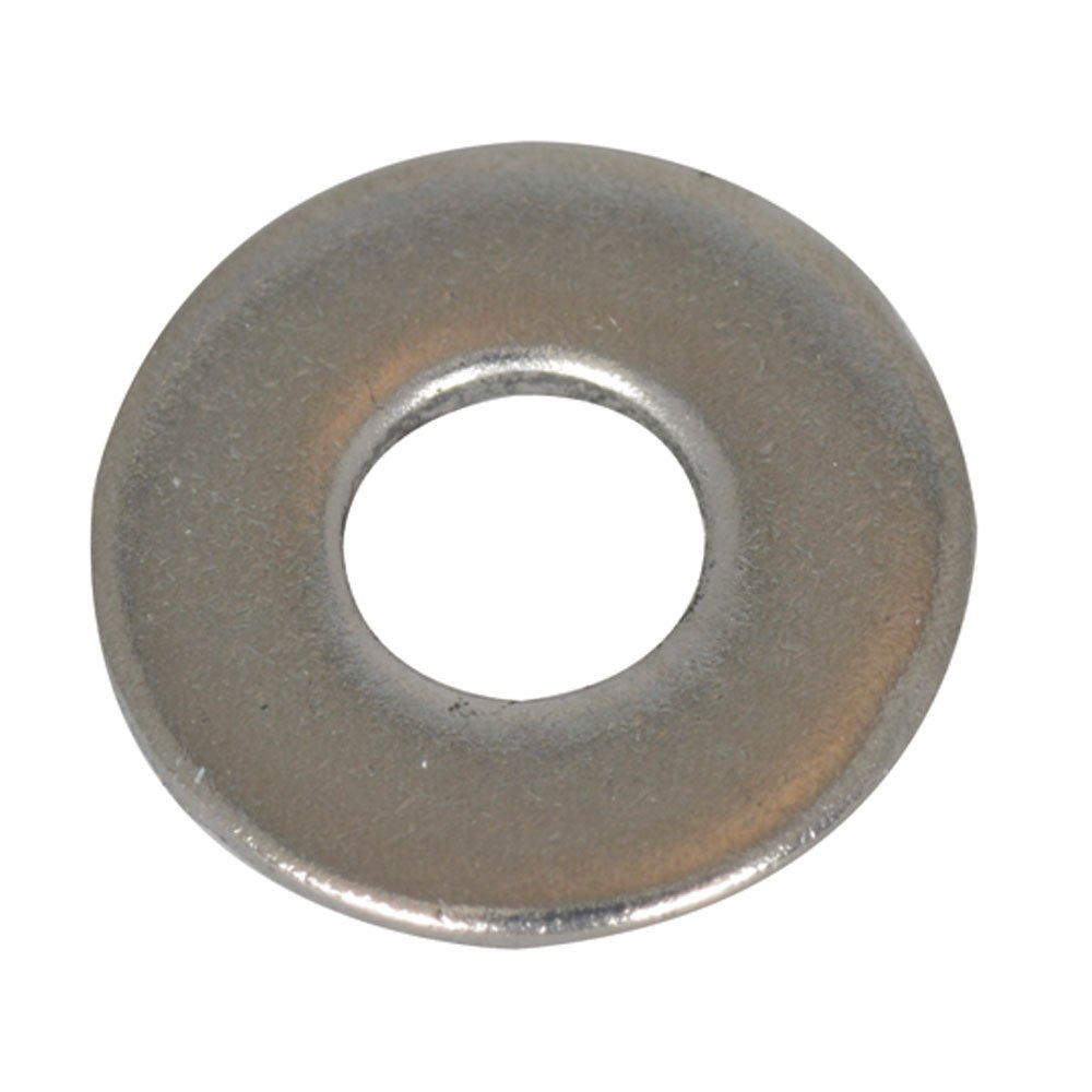 Jameco Valuepro #4FW-R Flat Washer, 4 9/32, Zinc Plated Steel (Pack of 70)