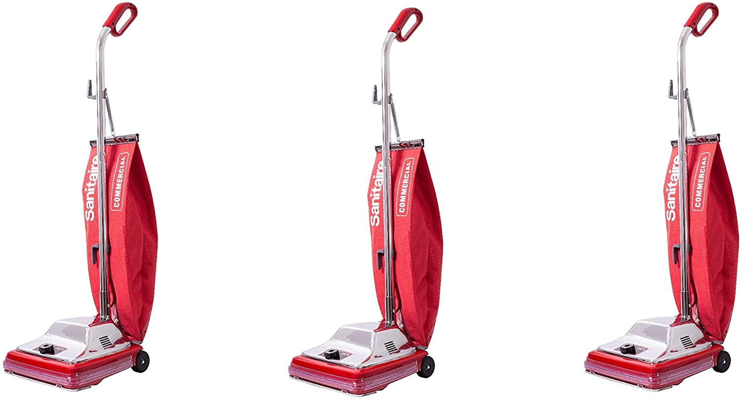 Sanitaire Tradition Upright Bagged Commercial Vacuum, SC886F (Pack of 3)