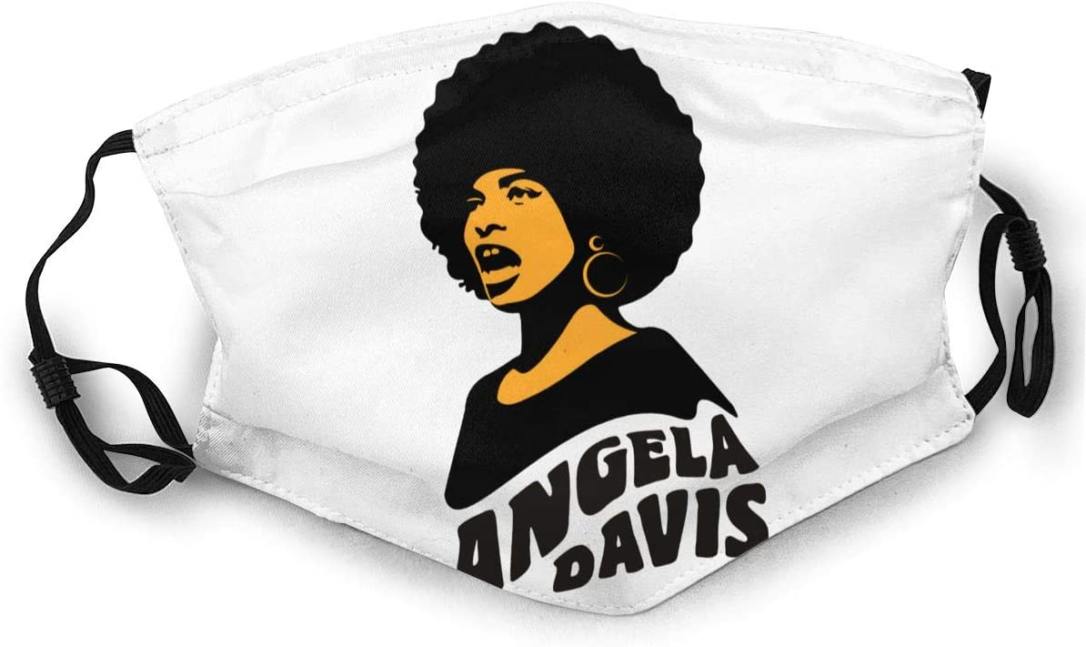 Wehoiweh A-N-G-E-L-A Davis Soft, Breathable, Adjustable Elasticity with Buckle, You Can Change Its Length According to Your Facial Contour