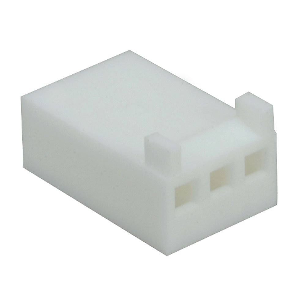 Molex 22-01-3037 Housing Connector, Receptacle, 3 Position, Straight, 12.7 mm D x 8.18 mm L x 4.82 mm H (Pack of 30)