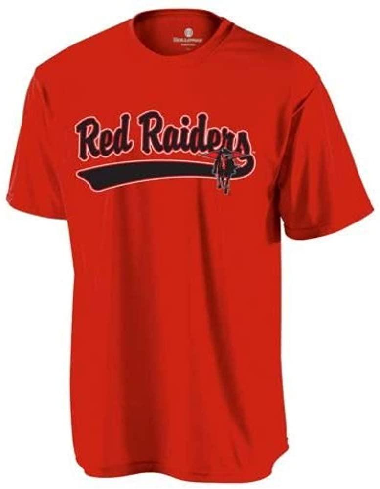 Adult Medium Texas Tech Red Raiders Blank Back Replica College Crewneck Jersey