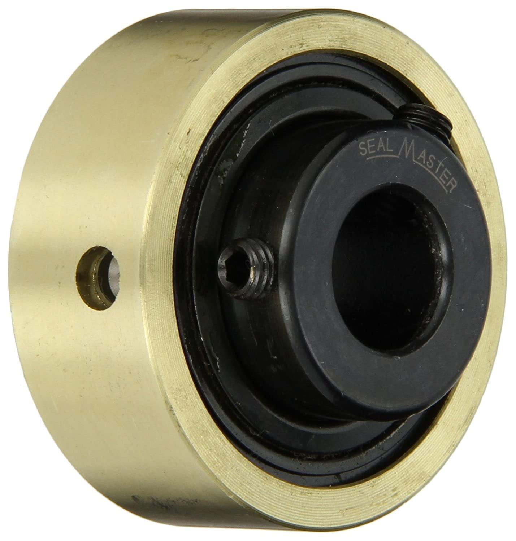 Sealmaster AR-2-012 Standard Duty Mounted Bearing Expansion Insert, Setscrew Locking Collar, Felt Seals, 3/4