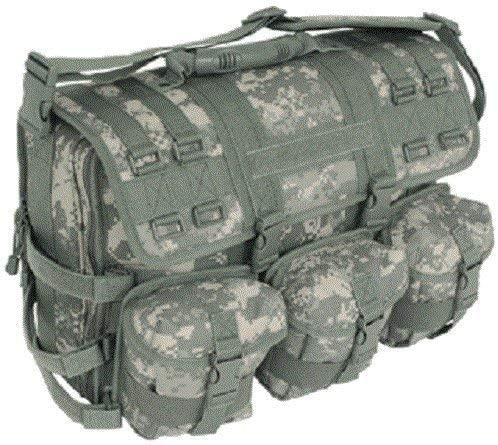 MWS Green ACU Digital Camo MOLLE Tactical Military Laptop Briefcase Shoulder Bag