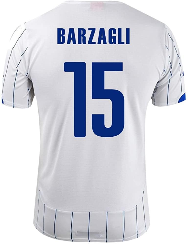 PUMA BARZAGLI #15 ITALY AWAY JERSEY WORLD CUP 2014 (2XL) white