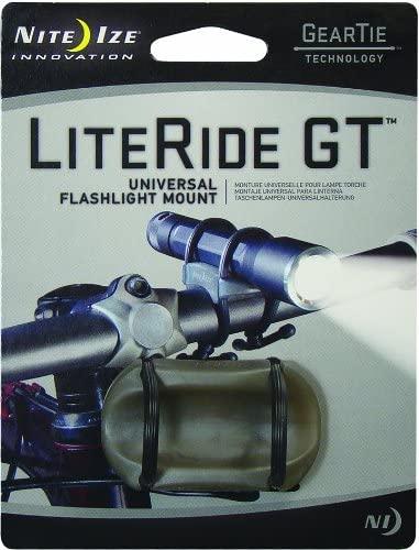 Nite Ize Light Ride Gear Tie Flashlight Mount