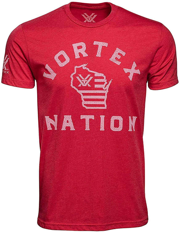 Vortex Optics Nation Wisconsin Short Sleeve Shirts