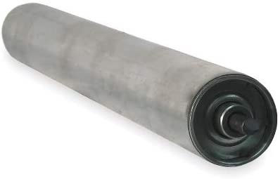 Ashland Conveyor Alum Replacement Roller, 1-3/8In Dia, 13BF - EA13, (Pack of 2)