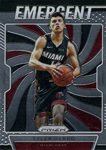 2019-20 Panini Prizm - Tyler Herro - EMERGENT - Miami Heat NBA Basketball Rookie Card - RC Card #5