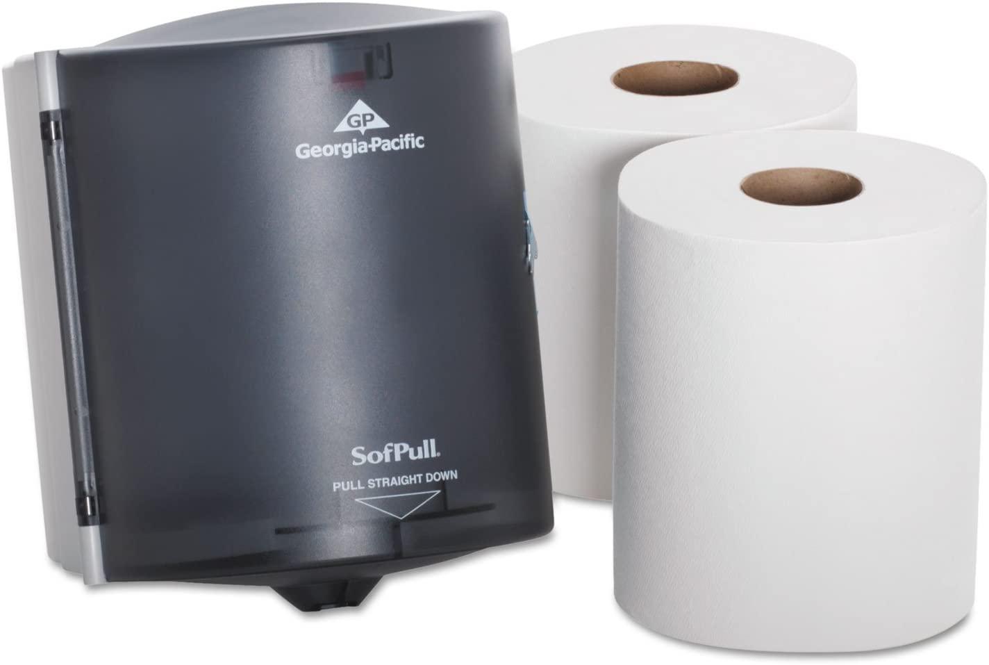 Trial Kit Dispenser 9 5/8 x 12 1/8 x 9 3/8 Translucent Smoke