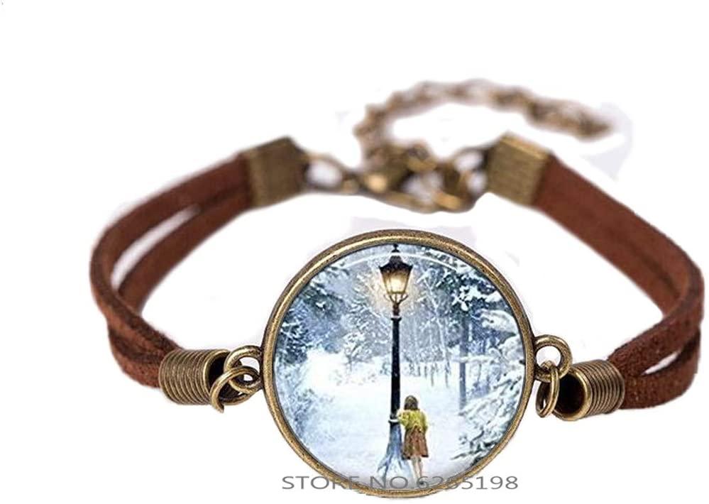 The Witch Bracelet,Round Glass Dome Bracelet Bangle,Bangle Jewelry,Movie Jewelry,Snowflake Bracelet,N146
