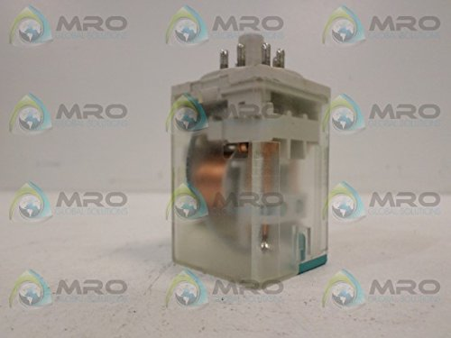 1- SQUARE D BY SCHNEIDER ELECTRIC 8501KPD12V53 POWER RELAY, DPDT, 24VDC, 10A, PLUG IN