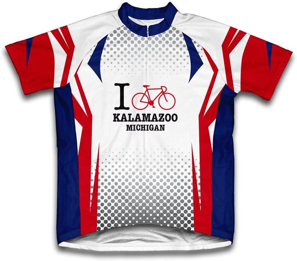 ScudoPro Kalamazoo Michigan MI Cycling Jersey for Men