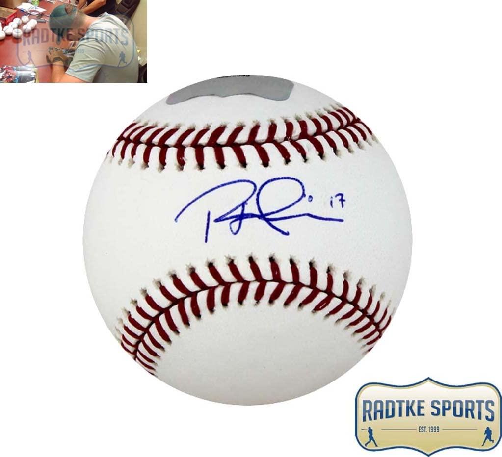 Rhys Hoskins Signed Philadelphia Phillies Rawlings Official MLB Baseball
