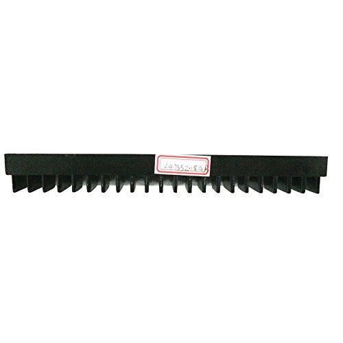 20 pcs/ 1 pack L47332118A L47332118B Escalator Demarcation Length 200mm Width 32mm Install Size 82mm